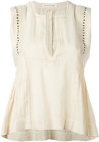Etoile Isabel Marant Adonis tank - women - Cotton/Polyester/Viscose/Brass - 36