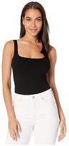 Only Hearts Pamela Eco Rib Bodysuit (Black) Women's Jumpsuit & Rompers One Piece