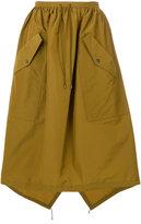 Kenzo full pocket skirt - women - Cotton/Polyamide - 34