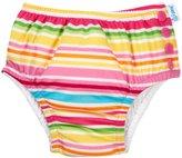 I Play Ruffle Snap Reusable Swim Diaper (Baby/Toddler) - Pink Multi Stripe - 18-24 Months