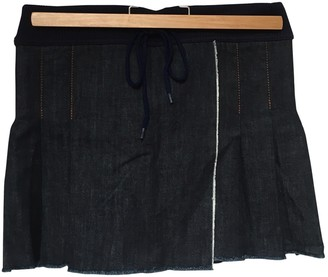 Jean Paul Gaultier Navy Denim - Jeans Skirts