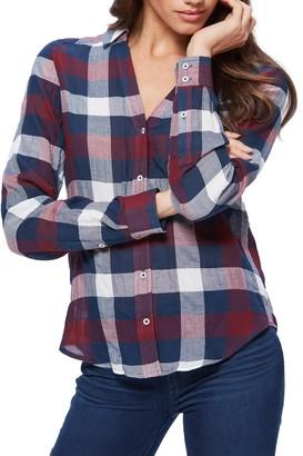Paige Neve Plaid Button Down Shirt