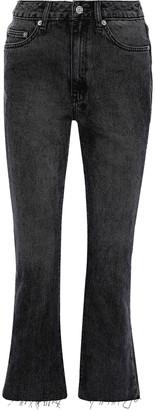 Ksubi Skinny Kick'n Frayed Mid-rise Kick-flare Jeans