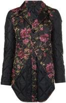 Comme des Garcons floral print blazer