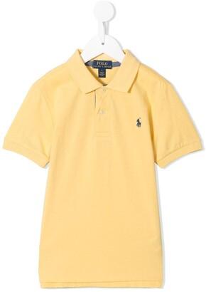 Ralph Lauren Kids Embroidered-Logo Polo Shirt