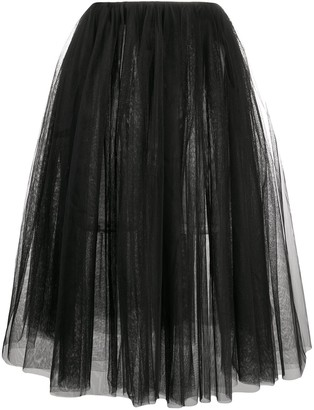 Alchemy tulle A-line skirt