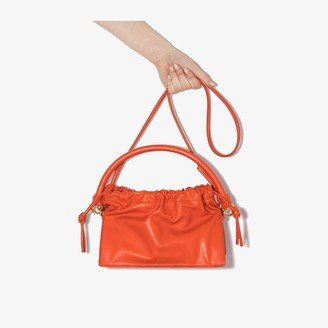 Yuzefi Red Bom Leather Tote Bag