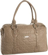 Storksak Women'S Elizabeth Quilted Sk715 Diaper Bag,Fawn,One