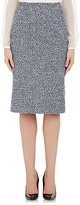Altuzarra Women's Tweed Gaynor Pencil Skirt-NAVY