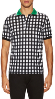 Fred Perry Gingham Fade Pique Polo