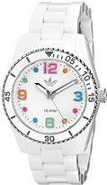 adidas Unisex ADH2941 Brisbane White Watch with Silicone Strap