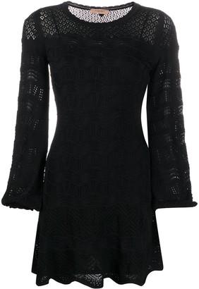Twin-Set Geometric Knit Dress