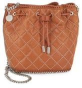 Stella McCartney Falabella Quilted Drawstring Bucket Bag