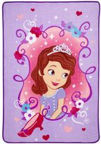 Disney Disney's Sofia the First Sweet as a Princess Coral Fleece Blanket