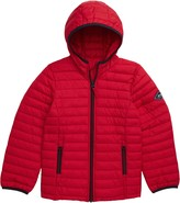 Joules Cairn Packable Hooded Puffer Jacket