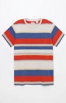 Levi's Orange Tab Striped Pocket T-Shirt