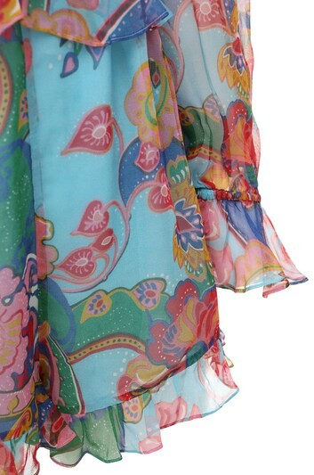 Thumbnail for your product : Zimmermann The Lovestruck Chiffon Playsuit
