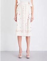 Temperley London Juniper crepe skirt