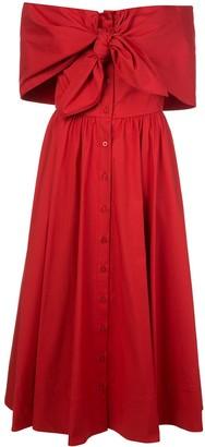 Oscar de la Renta Asymmetric Dress