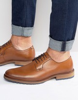Dune Bunker Leather Derby Shoes