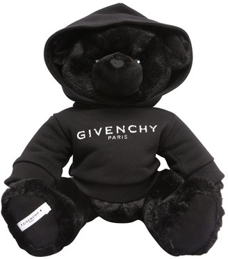 Givenchy Plush Teddy Bear W/ Logo Sweatshirt
