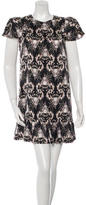 Thomas Wylde Printed Silk Dress w/ Tags