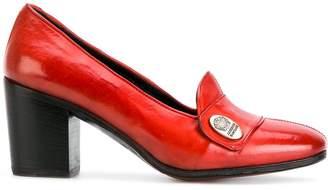 Alberto Fasciani block heel pumps