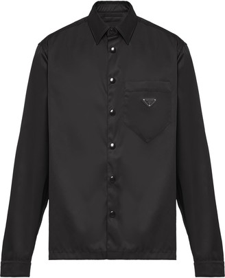 Prada Snap Button-Up Shirt