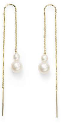 Ippolita 2-Stone Drop Thread Earrings in 18K Gold