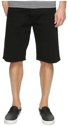 Levi's Mens Mens 569(r) Loose Straight Short (Black/Black 3D) Men's Shorts