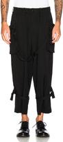 Yohji Yamamoto Belted Trousers