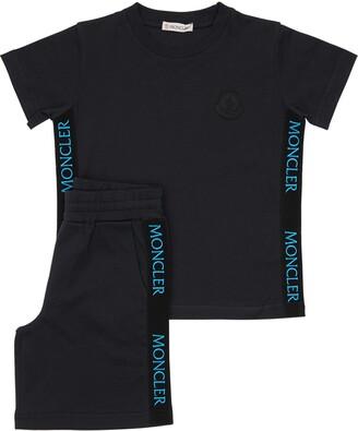Moncler Cotton Jersey T-Shirt & Shorts