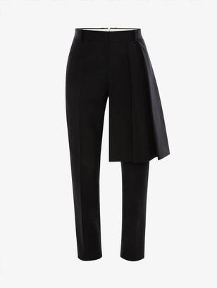 Alexander McQueen Wool Kilt Pants