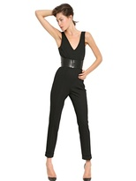 McQ by Alexander McQueen Tailored Cool Wool Jumpsuit