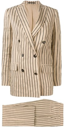 Tagliatore Striped Two-Piece Formal Suit