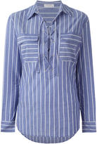 Equipment striped shirt