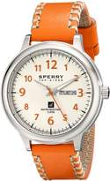 Sperry Men's 10018687 Largo Analog Display Japanese Quartz Brown Watch