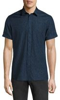 J. Lindeberg Short Sleeve Button-Down Shirt