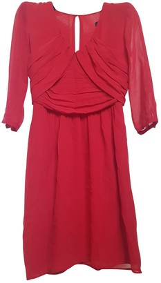 Max & Co. Red Silk Dress for Women
