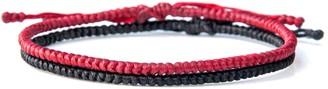 Harbour Uk Bracelets Rounded Yoga Style Mens Handmade Rope Bracelet - Happy Yogi