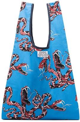 Neighborhood Rattlesnake print tote bag