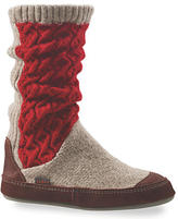 Acorn Slouch Boot Sock Slippers