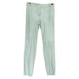 Chloé Green Suede Trousers