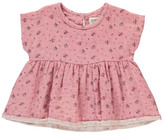 Sale - Natalie Floral Peplum Top - Boy + Girl