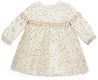 Tartine et Chocolat Glitter Star Dress (3-36 Months)