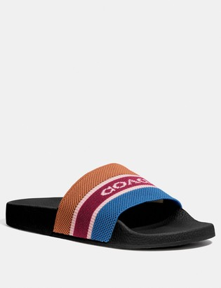 Coach Knit Slide