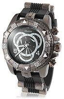 Unknown Men's Watch, Men's Multi-Functional Merchanical Design Round Dial Alloy Band Quartz Analog Wrist Watch ( Color : )
