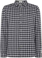 Howick Men's Firestone Brushed Gingham Long Sleeve Shirt