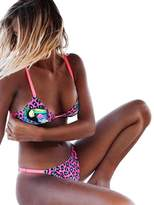 Hosamtel-Swimsuit Women's Sexy Push Up Padded Two Piece Low-Rise Bikini Beach Swimsuit Hosamtel (, S)
