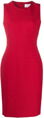 HUGO BOSS Dacriba sleeveless midi dress